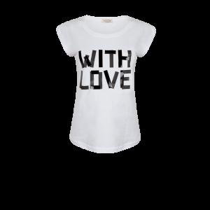 Wit/ zwart T-shirt